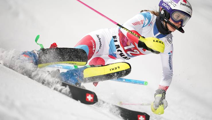 Aline Danioth hier in Flachau