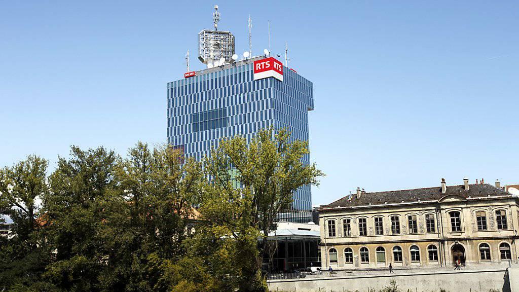 Der Brand ereignete sich nicht weit vom Radio- und Fernsehgebäude der RTS entfernt. (Symbolbild)