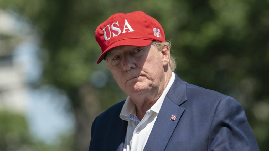 Trump sagt Golf-Wochenende wegen «Anarchisten» ab