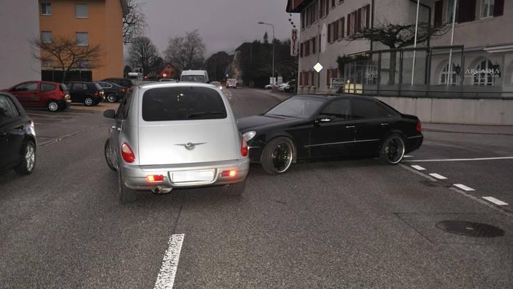 Zum Unfall kam es auf der Hauptstrasse in Oensingen.