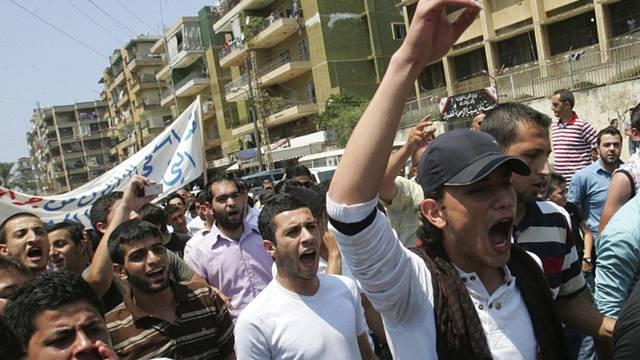 Anti-Regierungsproteste in Syrien (Archiv)