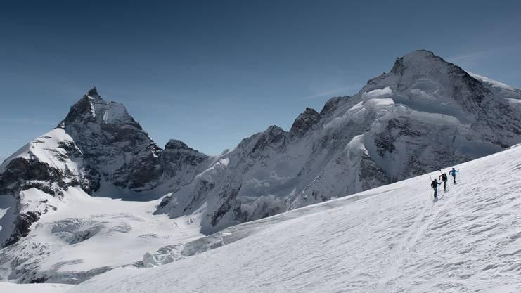 Auf der Patrouilles des Glaciers mit #project360 von Mammut.