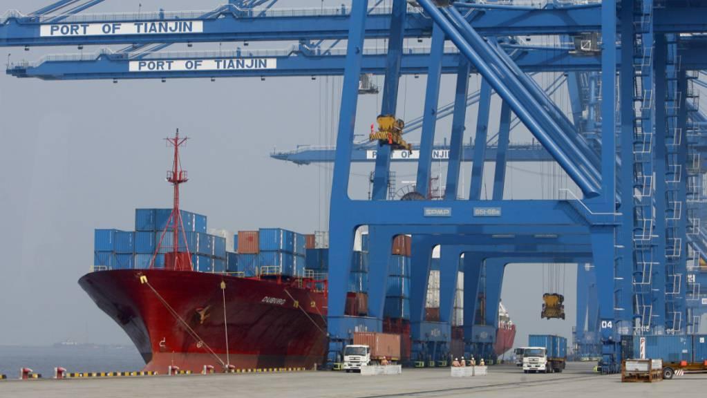 Die Exporte von China in die Länder der Welt haben auch im September weiter zugenommen. (Symbolbild)