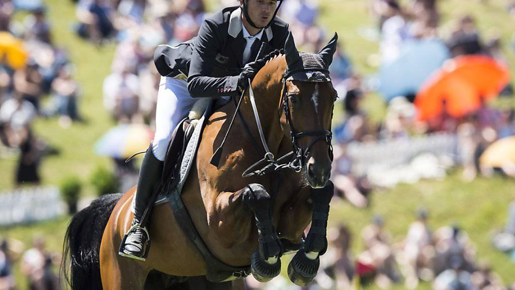 Nach der Entlastung von den Dopingvorwürfen kann sich Steve Guerdat wieder ganz dem geliebten Pferdesport zuwenden.