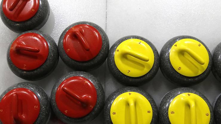 Im Mixed-Doppel spielen die Teams nur je sechs Steine