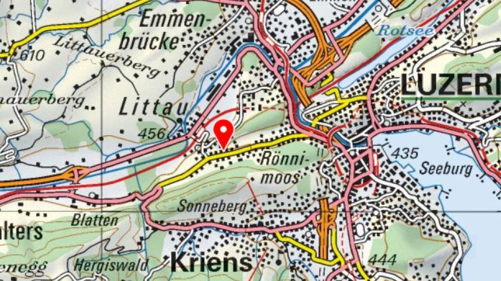 Im Luzerner Stadtteil Littau ist am Samstag ein Tötungsdelikt verübt worden.