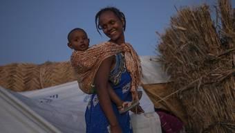 dpatopbilder - Viele Geflüchtete aus Tigray befinden sich derzeit im Sudan. Foto: Nariman El-Mofty/AP/dpa