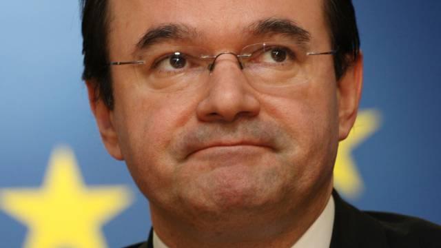 Papakonstantinou 2010, als er noch griechischer Finanzminister war