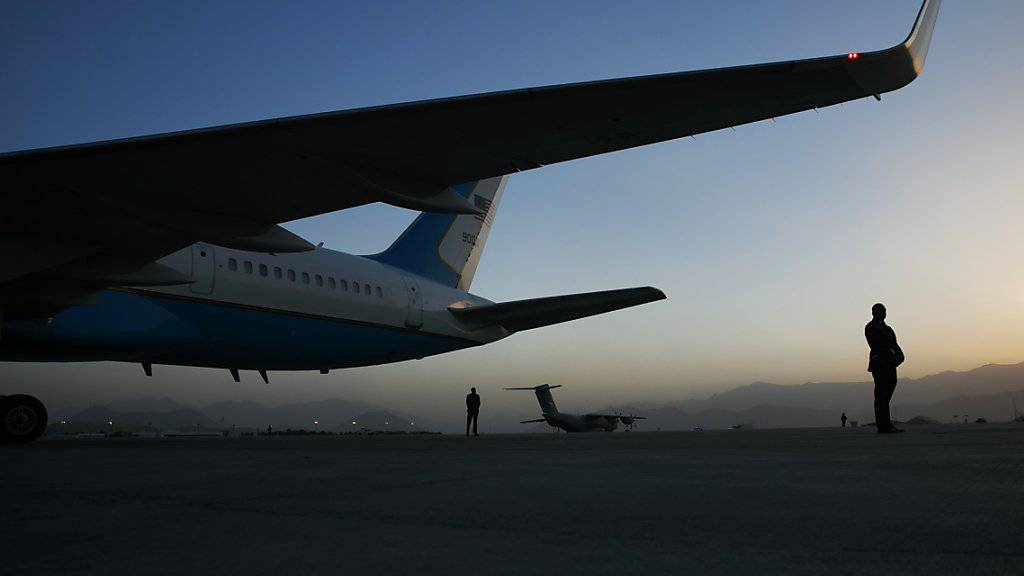 """""""Ich würde gerne einfach rausgehen"""": US-Präsident Donald Trump äusserte sich in einem TV-Interview zum Truppenabzug aus Afghanistan. (Archivbild)"""