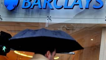 Das Logo der britischen Grossbank Barclays in London (Archiv)