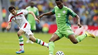 Iran Nigeria -  das Spiel der uneinschätzbaren Teams