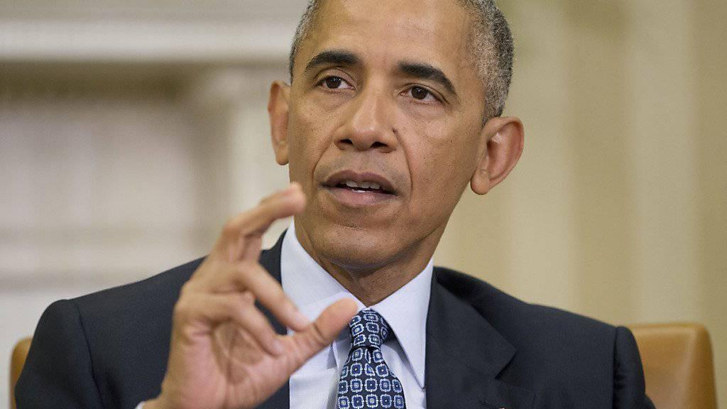 Exakt sieben müssen es sein: Salzige Mandeln sind Barack Obamas Mitternachtssnack. (Archivbild)