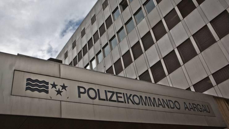 Das Polizeikommando in Aarau. Hier wird bald ausgebaut.