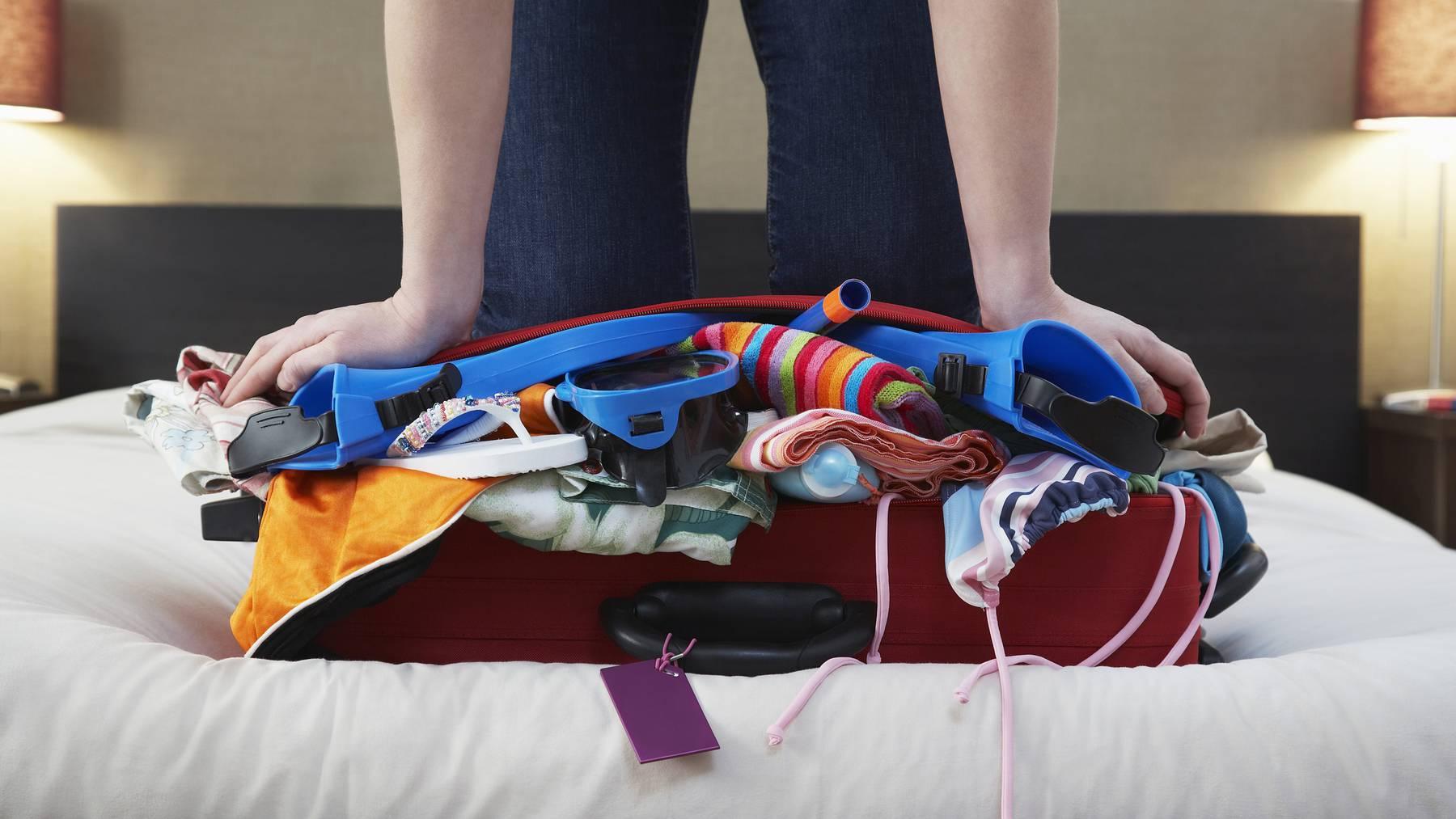 Mit diesen 15 Tricks bringst du alles in deinen Koffer.