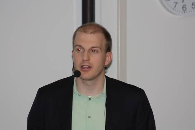 Daniel Cajoos zum Thema GridSense, die Energiemanagement-Lösung für Morgen?