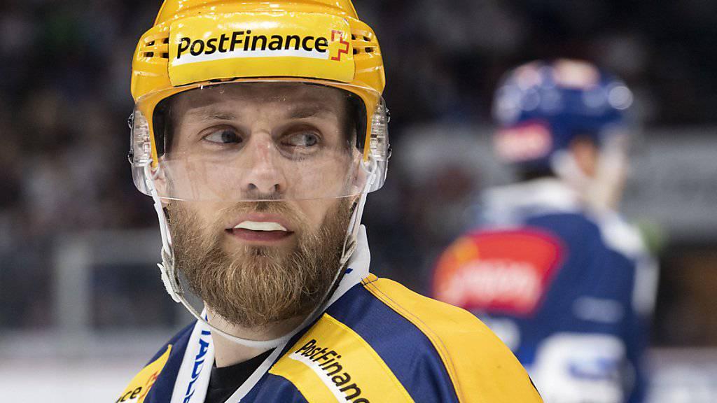 Fredrik Pettersson muss die ersten fünf Spiele der neuen Saison zuschauen