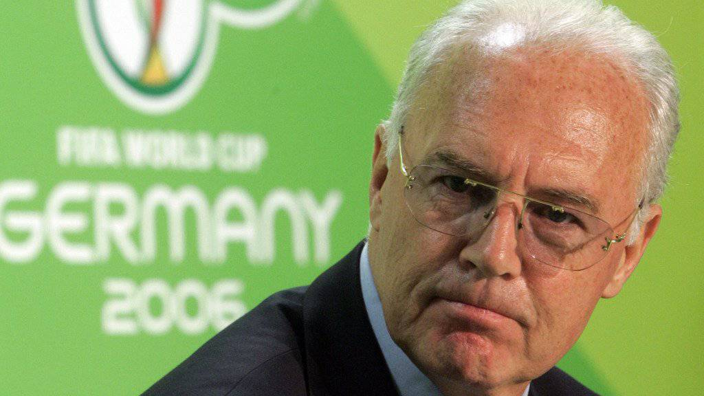 In den letzten Wochen unter Beschuss geraten: Franz Beckenbauer