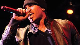 Chris Brown bei einem Konzert in Los Angeles (Archiv)