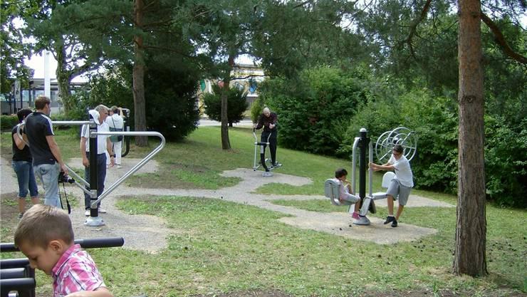 Vom «Hundeklo» zum beliebten Quartiertreffpunkt: Der Bewegungspark in der Längi in Pratteln ist ein Resultat des «Projet urbain». zvg