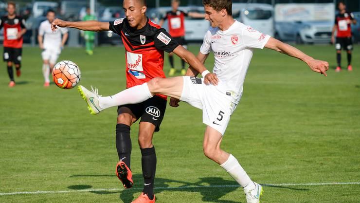 Der FC Aarau verlor das zweite Testspiel gegen einen Erstklassigen erneut mit 3:0.