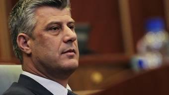 Kosovos Premier Hashim Thaci (im Bild) geht rechtlich gegen Dick Marty vor