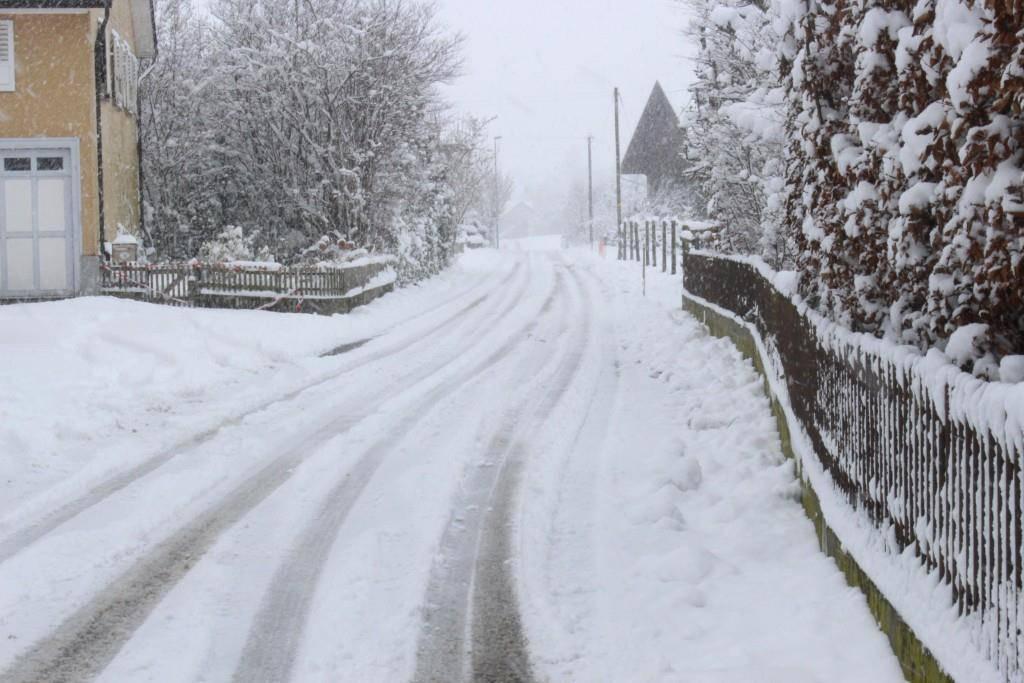 Reduzierter Winterdienst in Egnach (© FM1Today/Fabienne Engbers)