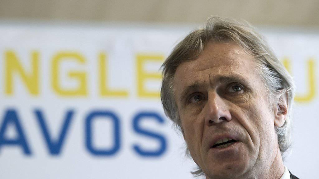 Vor dem letzten Mal: Fredi Pargätzi amtet in der Altjahrswoche zum letzten Mal als OK-Präsident des Spengler Cups