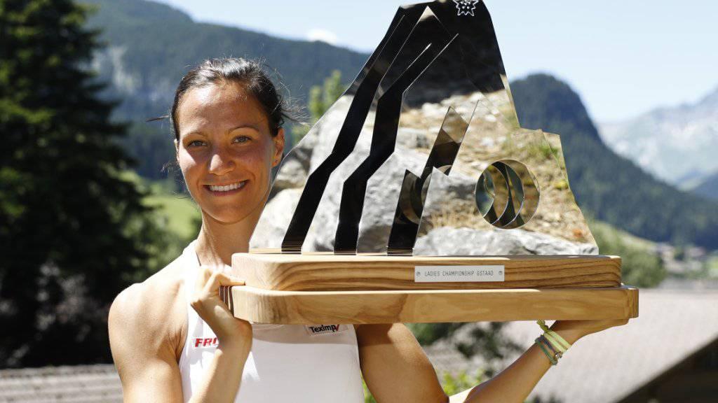 Für Viktorija Golubic zahlte sich der Titelgewinn von Gstaad auch in der Weltrangliste aus