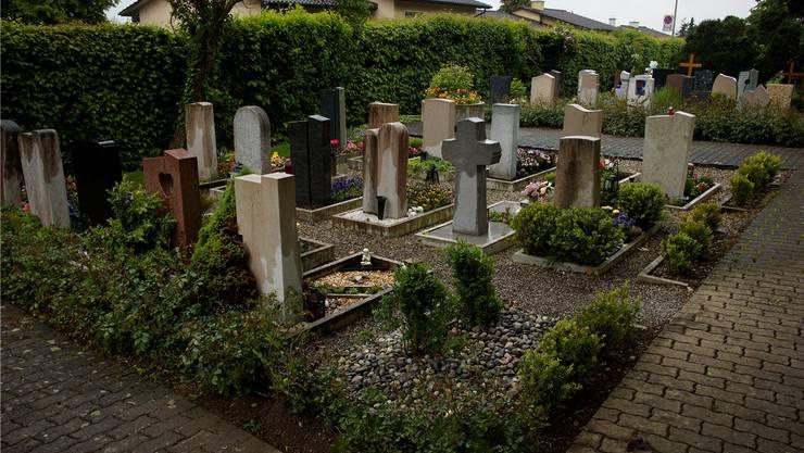 Exhumierung: Die Arbeit ist getan. Auf dem Grabfeld ist wieder Ruhe eingekehrt.