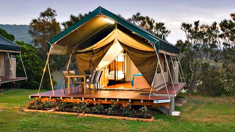 Glamping Zelten Camping