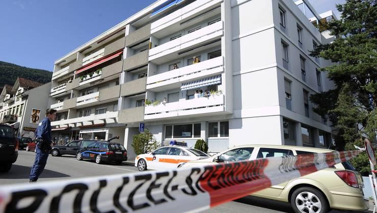 Der Tatort des Schenkkreis-Mordes in Grenchen