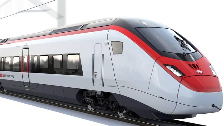 So sieht der SBB-Hochgeschwindigkeitszug Giruno aus