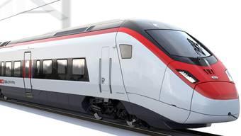 Der SBB-Hochgeschwindigkeitszug Giruno