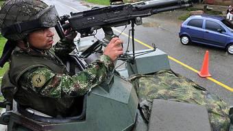 Scharfe Sicherheitsmassnahmen begleiteten Kolumbien-Wahl