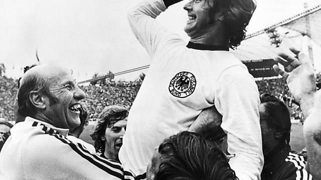 Gerd Müller schoss Deutschland 1974 zum WM-Titel