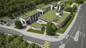 Damit der geplante Erweiterungsbau zustande kommen kann, verkauft die Stadt Bauland.