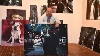 Thomas Droll in seinem Atelier an der Tannwaldstrasse in Olten