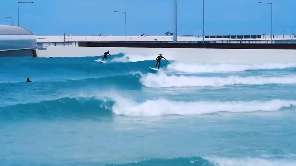 Surfen in den Bergen – Im Wallis eröffnet erster Surfpark