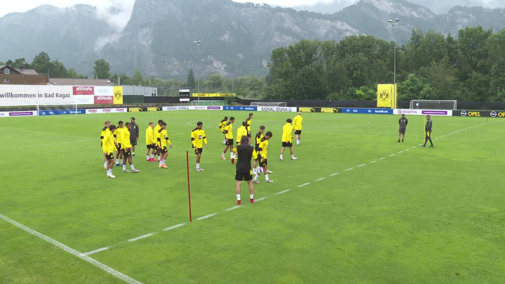 Isolierter BVB: Die Stars trainieren in Bad Ragaz ohne Fans