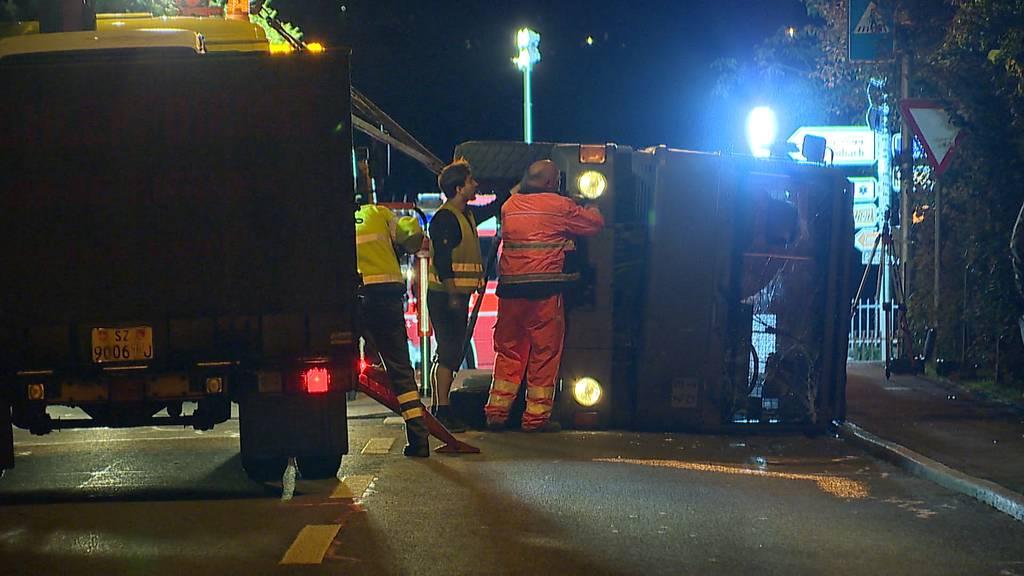 Fünf Rekruten bei Unfall mit Duro verletzt