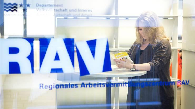 Im Kanton Aargau ist die Arbeitslosenquote im Januar wie im Schweizer Durchschnitt um 0,1 Prozentpunkte auf 2,8 Prozent gestiegen. (Symbolbild)