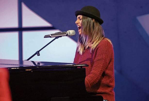 Tina Umbrichts Auftritt bei «DSDS» 2015.