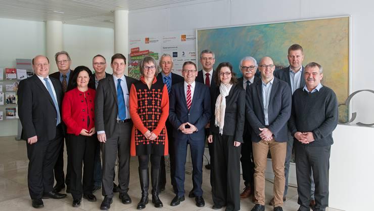 Gemeinsam für die USR III: Das breit abgestützte Co-Präsidium hat den Abstimmungskampf im Kanton aufgenommen.