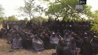 Boko Haram: Entführte Mädchen der Terroristen-Gruppe.