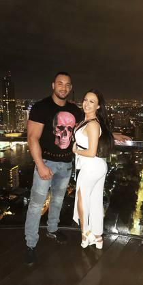 Das Paar war in Thailand in den Ferien.