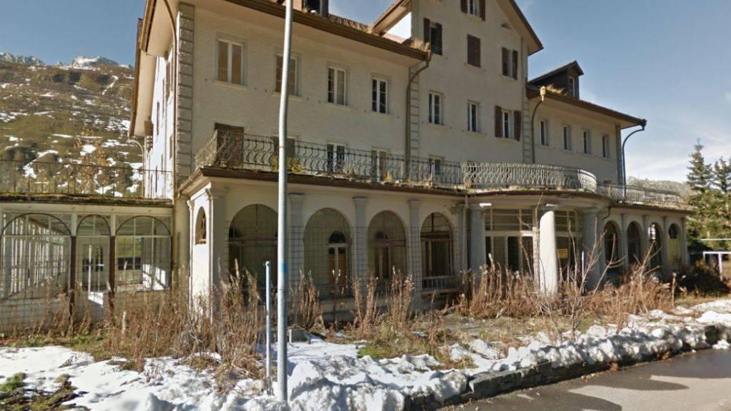 Im ehemaligen Hotel Meyerhof in Hospental UR sollen Ferienwohnungen erstellt werden.
