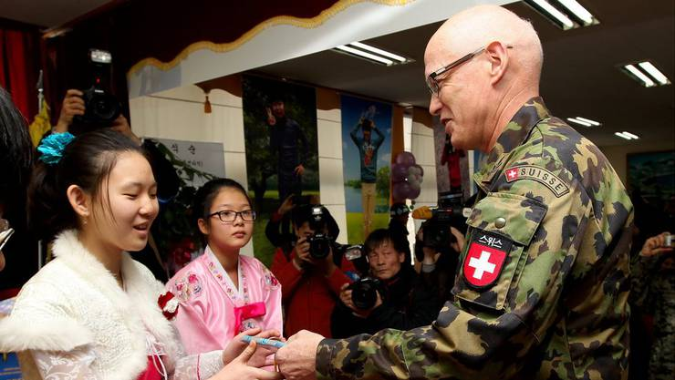 Divisionär Urs Gerber war bis Mitte 2017 Chef der Schweizer Delegation an der Grenze zwischen Nord- und Südkorea.