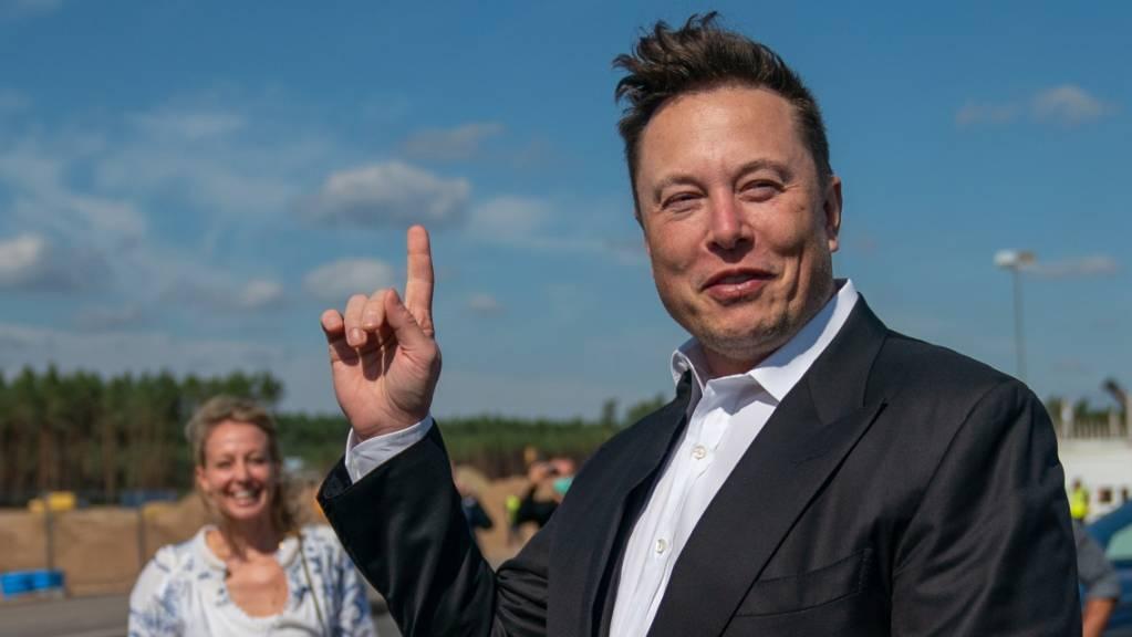 Zuletzt hatte sich Tesla-Gründer Elon Musk positiv zur Kryptowährung geäussert. (Archivbild)