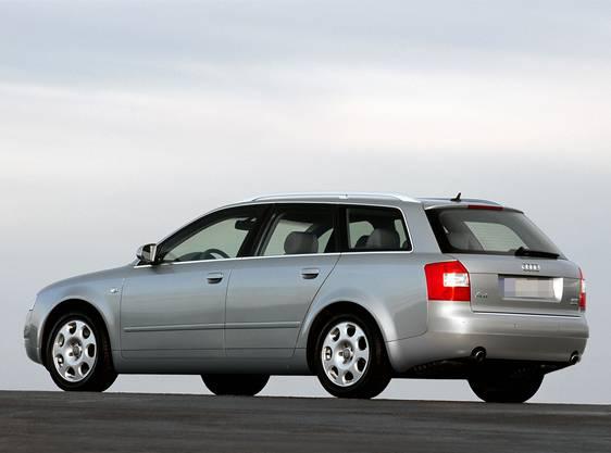 Der gesuchte Audi A4 Kombi. (Symbolbild)