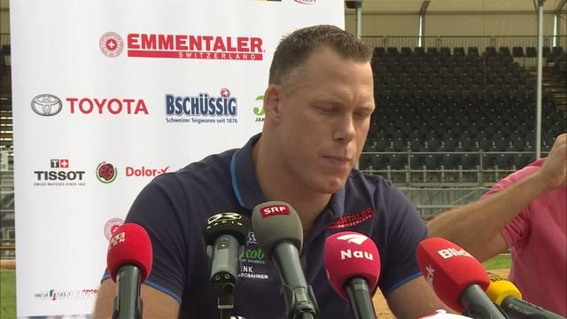 Schwingerkönig Matthias Sempach zurückgetreten